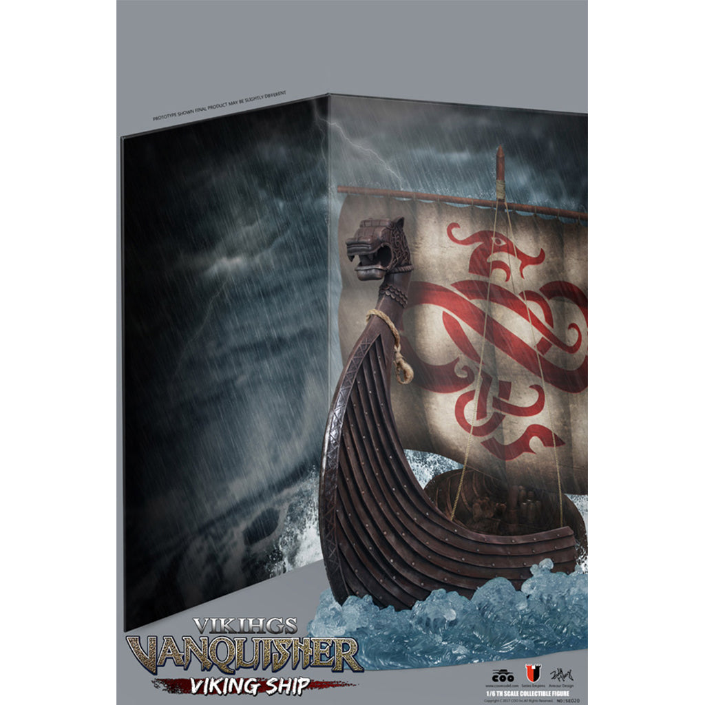 Series of Empires No: SE020 - Viking Vanquisher - Viking Ship (Diorama Platform)