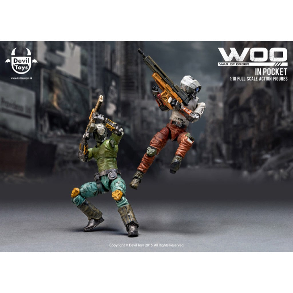 1:18 War of Order In Pocket Wave 1 - Secret Trooper