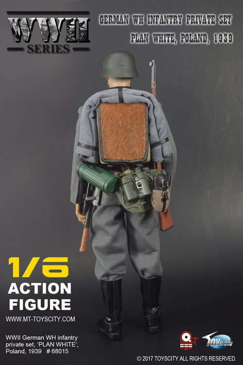 TC-68015 - 1/6 WWII German WH Infantry Private Set (Plan White, Poland 1939)