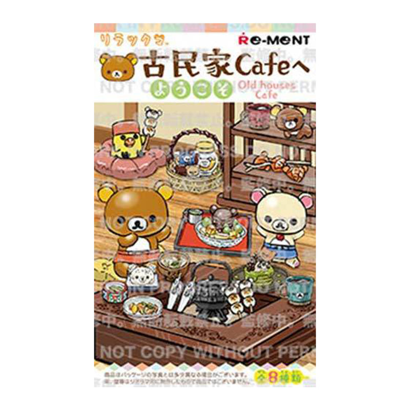 Re-ment Rilakkuma Welcome to Old Houses Cafe