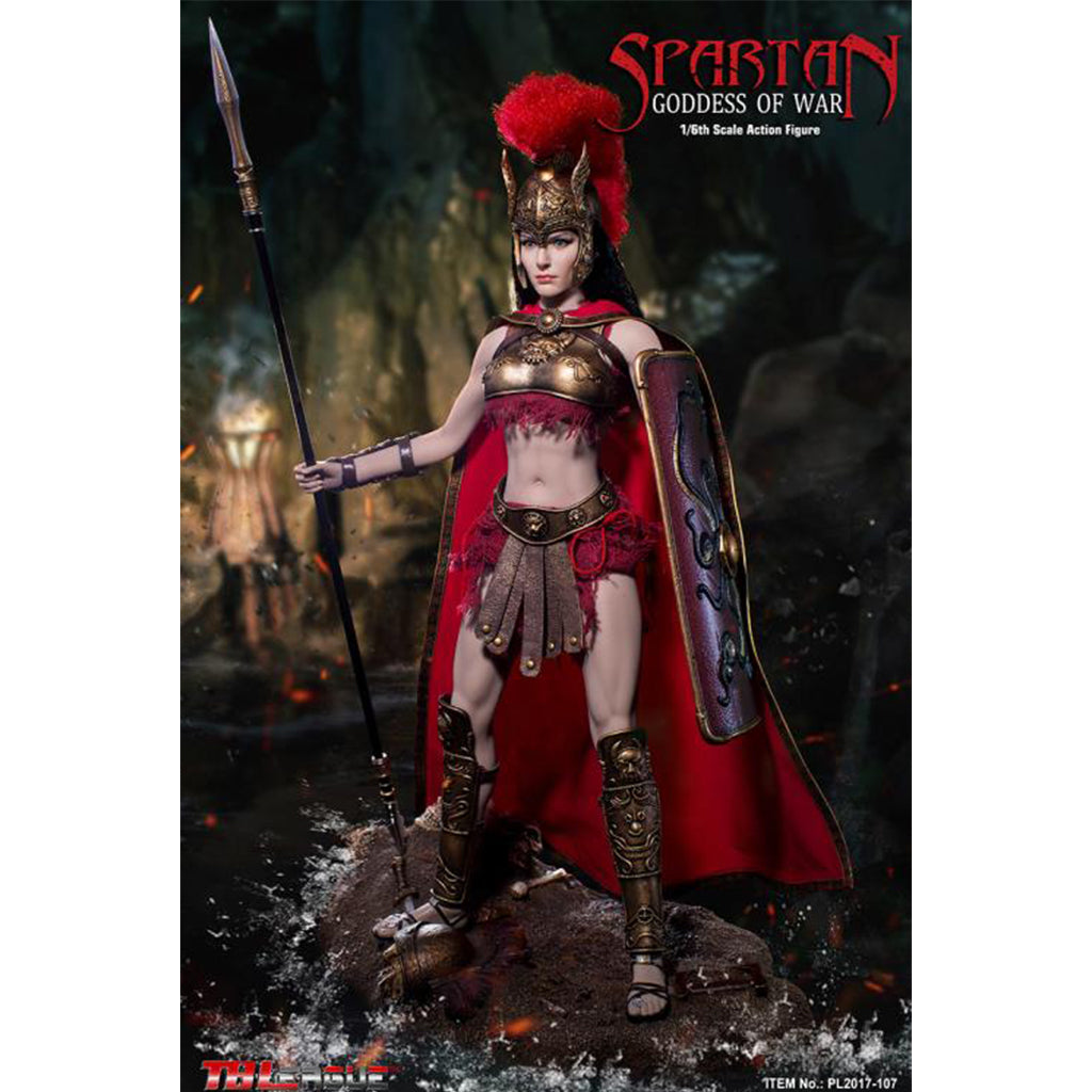 PL2017-107 - Spartan Goddess of War