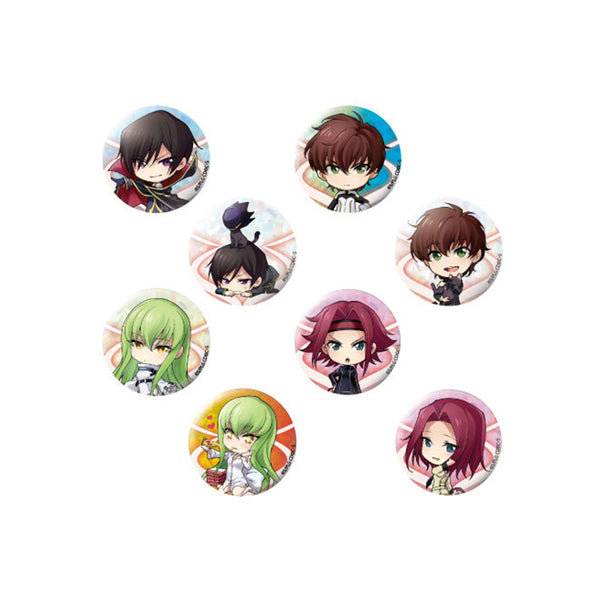Chara Forme Code Geass Can Badge Vol 1 Collection
