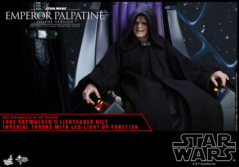 MMS468 - Star Wars: Episode VI Return of the Jedi - Emperor Palpatine (Deluxe Version)