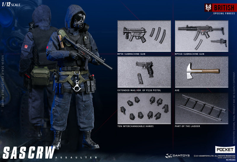 PES001 - British Special Forces - SAS CRW Assaulter
