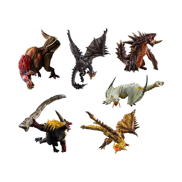 Capcom Figure Builder Monster Hunter Standard Model Plus Ikari Ver. Kai (Set of 6) (Reissue)