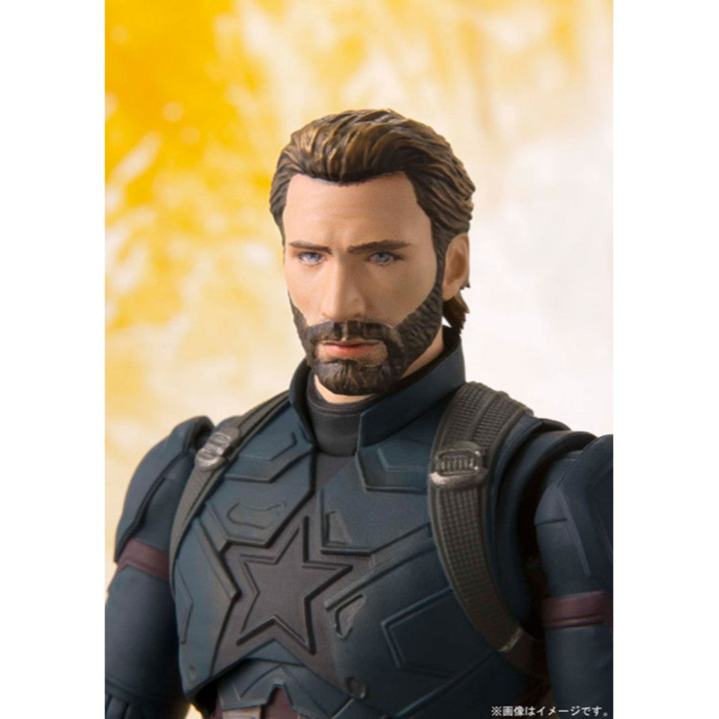 S.H. Figuarts Avengers: Infinity War - Captain America & TAMASHII EFFECT EXPLOSION