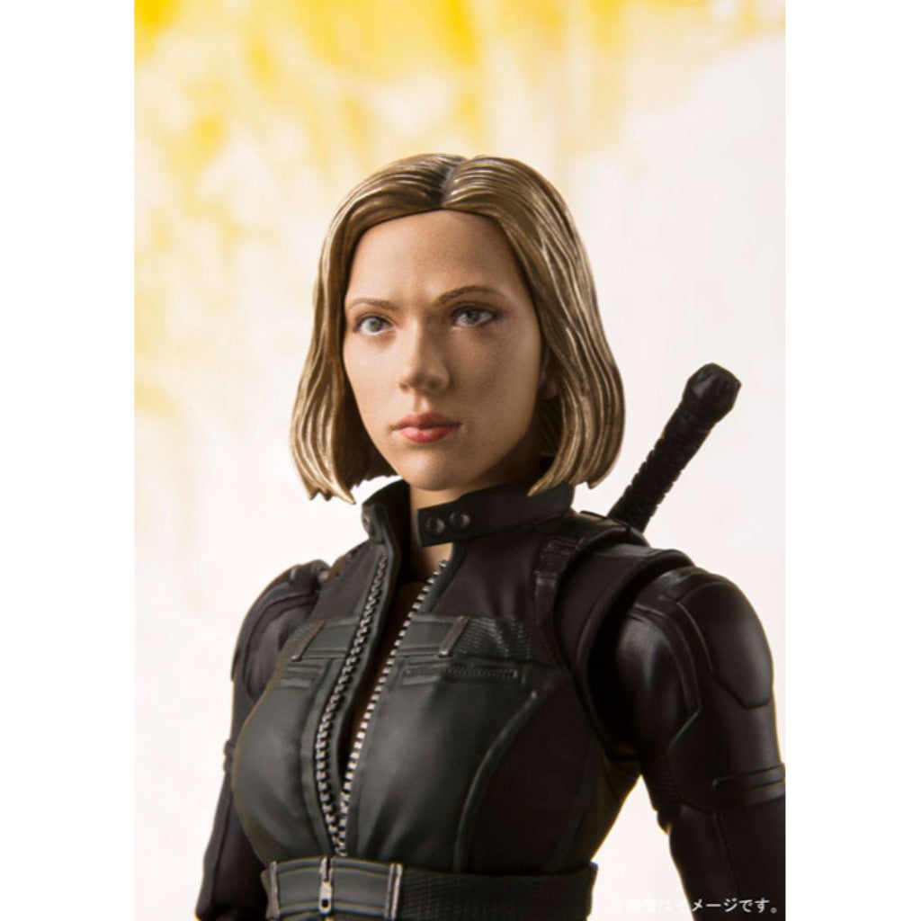 S.H. Figuarts Avengers: Infinity War - Black Widow & TAMASHII EFFECT EXPLOSION