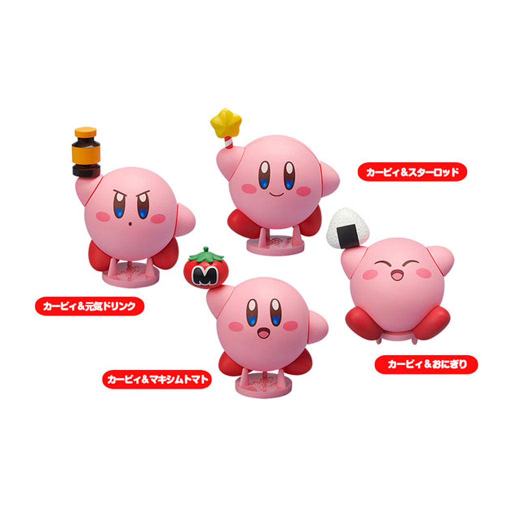 Cocoroid Kirby Collectible Figures (set of 6)