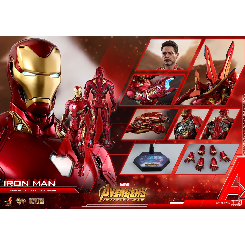 Hot Toys - MMS473D23 - Avengers: Infinity War - 1/6th scale Iron Man