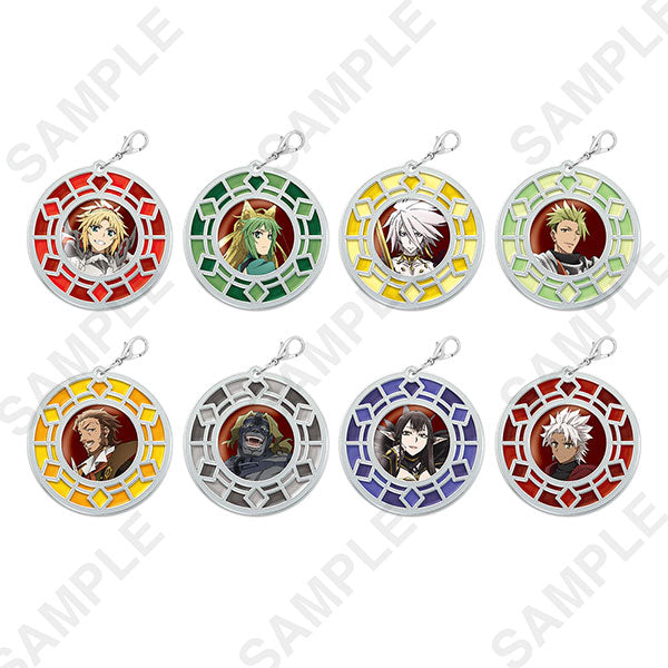 Fate/Apocrypha Clear Stained Charm Collection Ver. Red