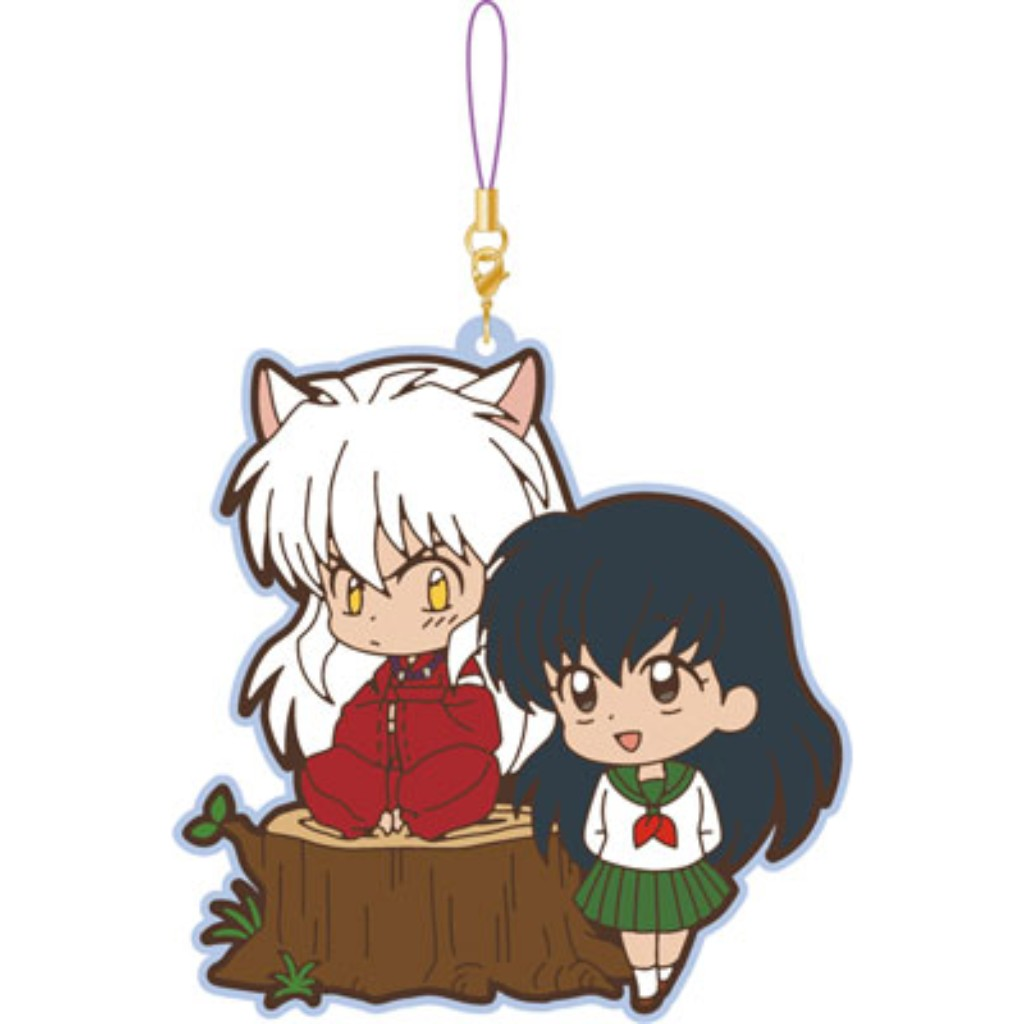 Inuyasha Pair Rubber Strap Collection