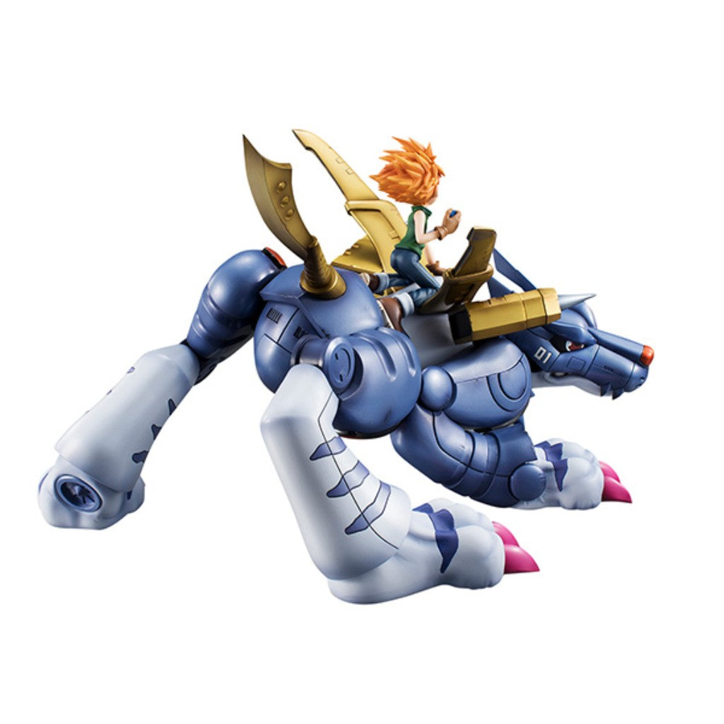 *G.E.M. SERIES DIJIMON ADVENTURE  METAL GARURUMON & ISHIDA YAMATO (subjected to allocation)