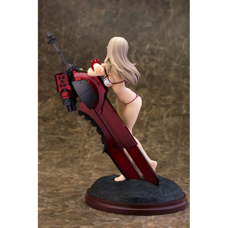 1/8 Alisa Ilinichina Amiella White Swimsuit Version God Eater 2
