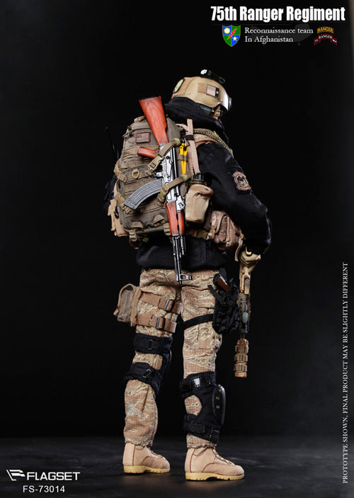 Flagset 1/6 75th Ranger Regiment in Afghanistan [FS-73014]