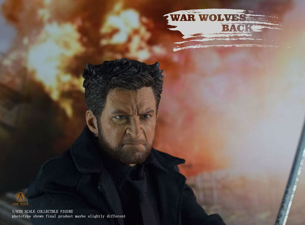 Add Toys 1/6 War Wolves Back (Suit Version) [AD02]