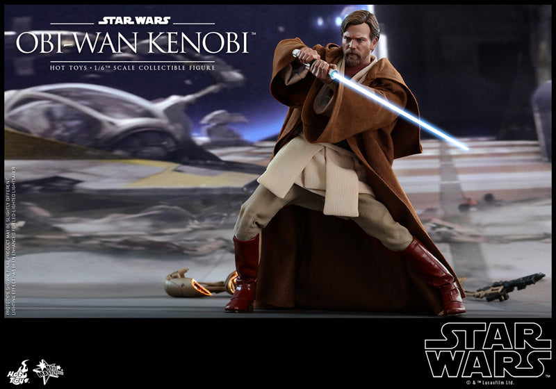 Hot Toys 1 6 Mms477 Obi Wan Kenobi Star Wars Episode Iii Revenge Of T Tog Toy Or Game