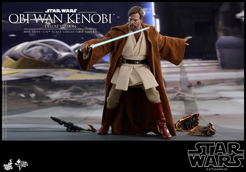 Hot Toys 1/6 MMS478 Obi-Wan Kenobi (Deluxe Version) Star Wars: Episode III Revenge of the Sith