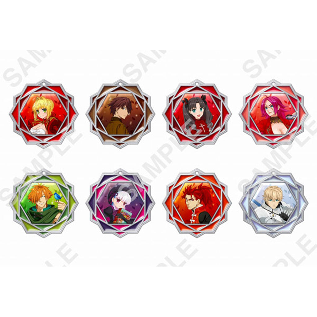 Kadokawa Fate/EXTRA Last Encore Clear Stained Charm Collection
