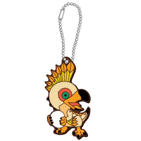 Capcom Monster Hunter World Deformed Monster Rubber Mascot Collection