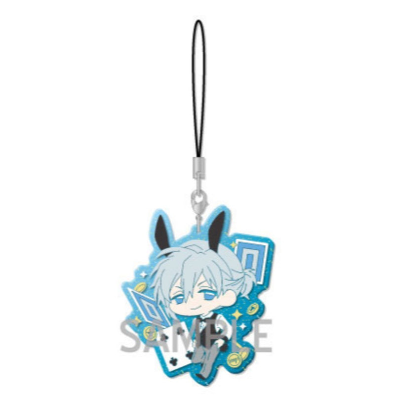 IDOLISH7 Usamimi Dealer Clear rubber strap