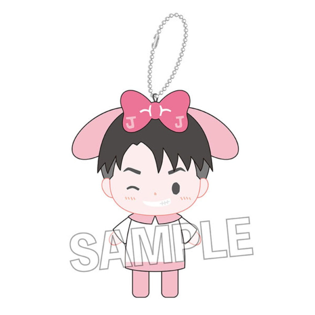 YURI ON ICExSANRIO Finger Puppets Keyholder - Jean-Jacques Leroy