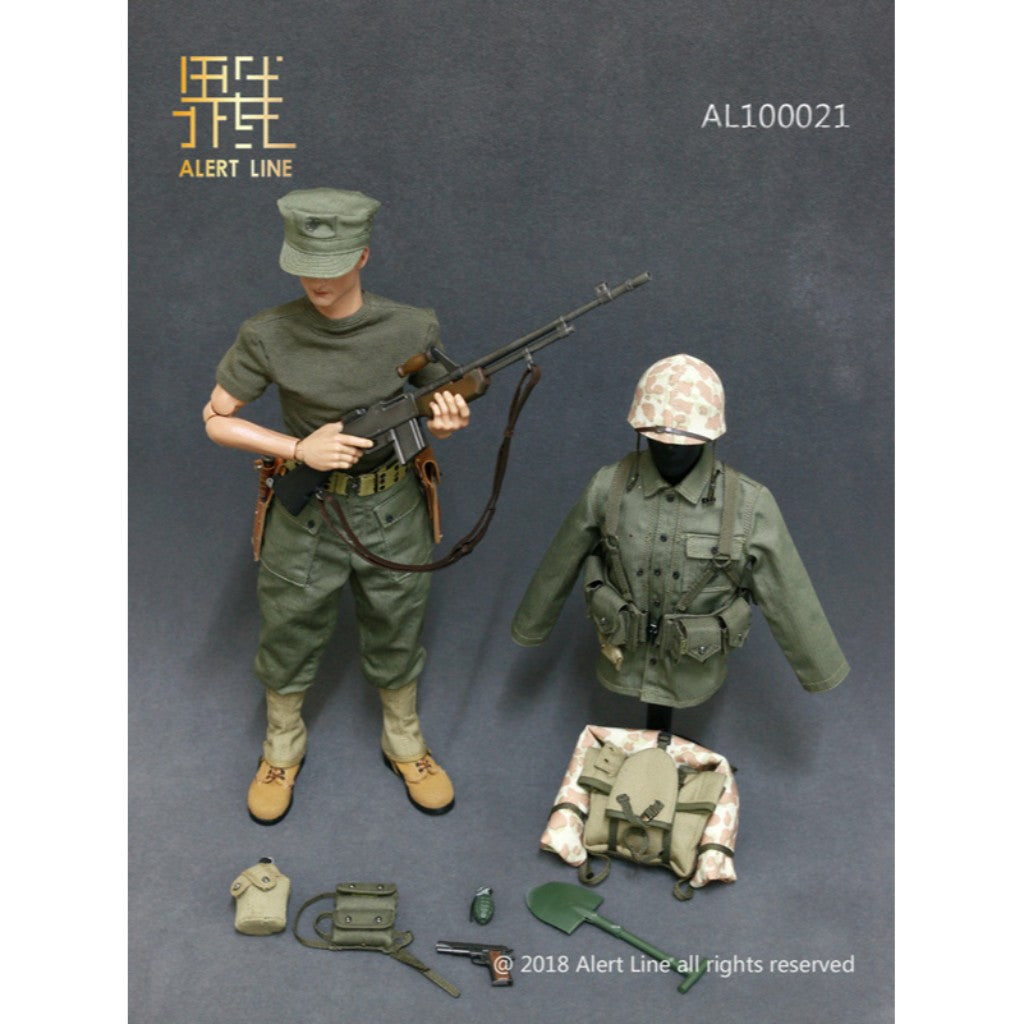 AL10021 - WWII US Marine Corps Browning Automatic Rifle (BAR) Gunner Set