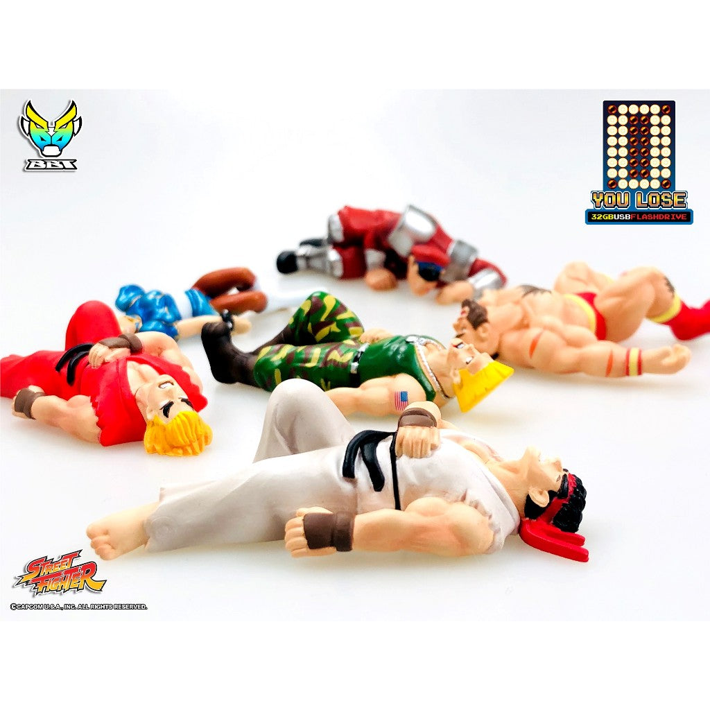 "Street Fighter ""You Lose"" 32GB USB Flash Drive"