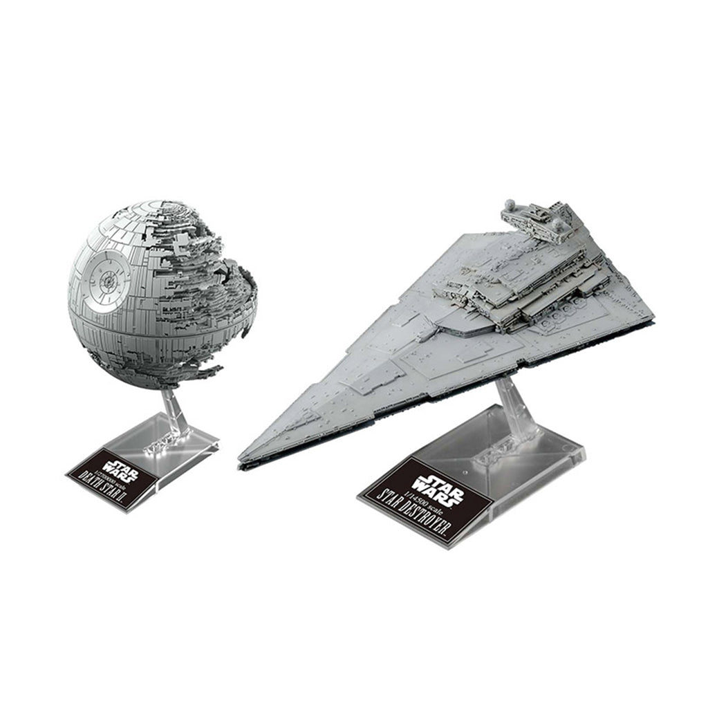Star Wars 1/2700000 Death Star II & 1/14500 Star Destroyer
