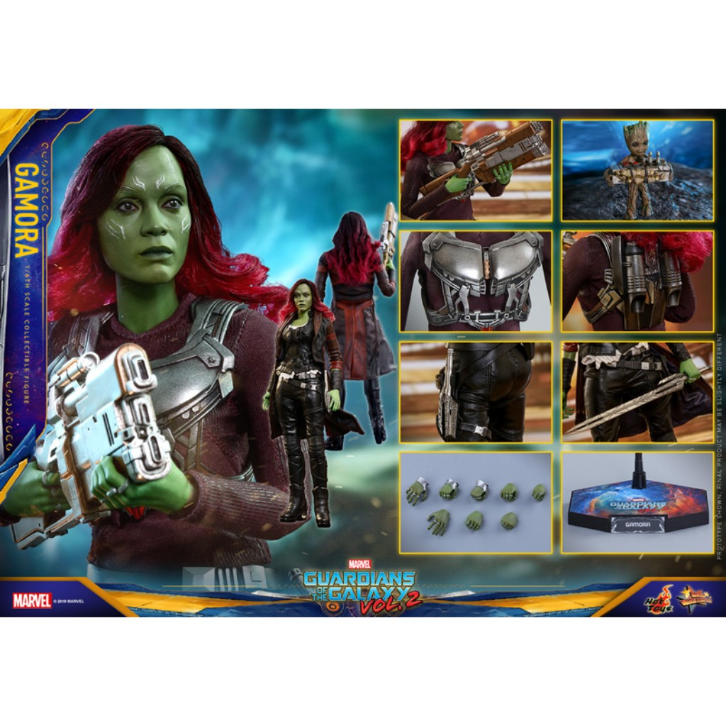 MMS483 1/6 Guardians of the Galaxy Vol. 2 - Gamora