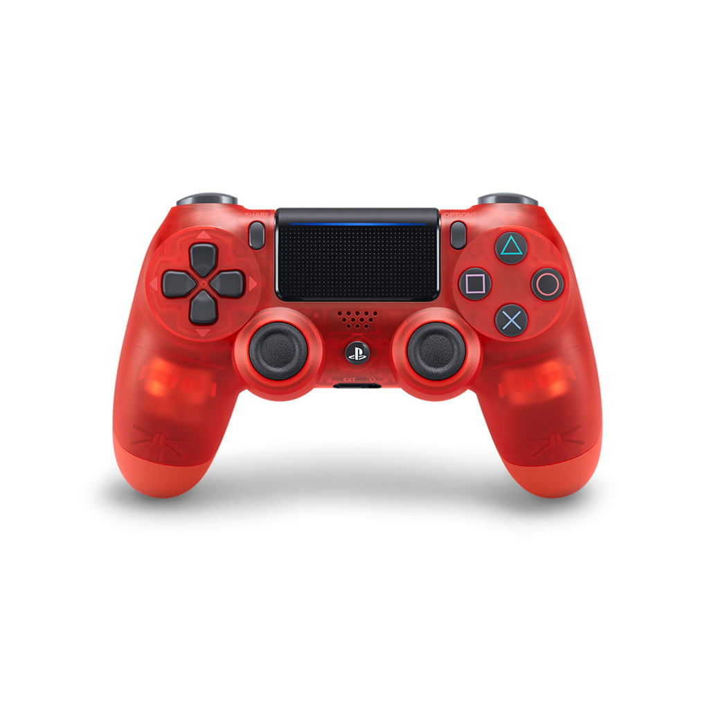 PS4 New DS4 Red Crystal Wireless Controller *Asia