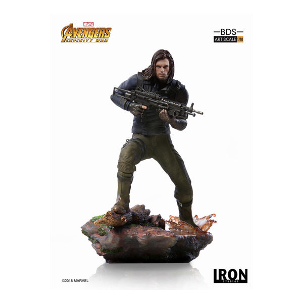 BDS Art Scale 1/10 - Winter Soldier