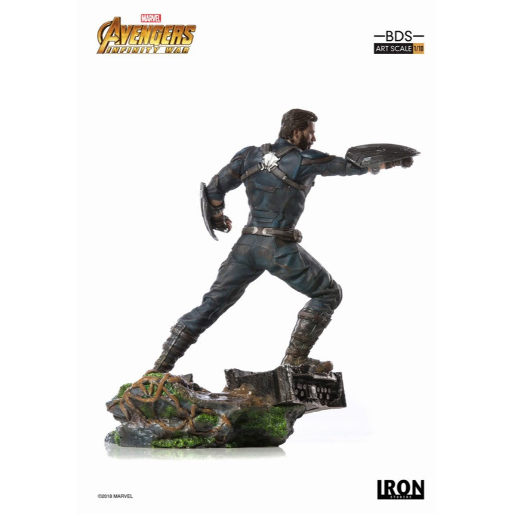 Iron Studios BDS Art Scale 1/10 - Captain America