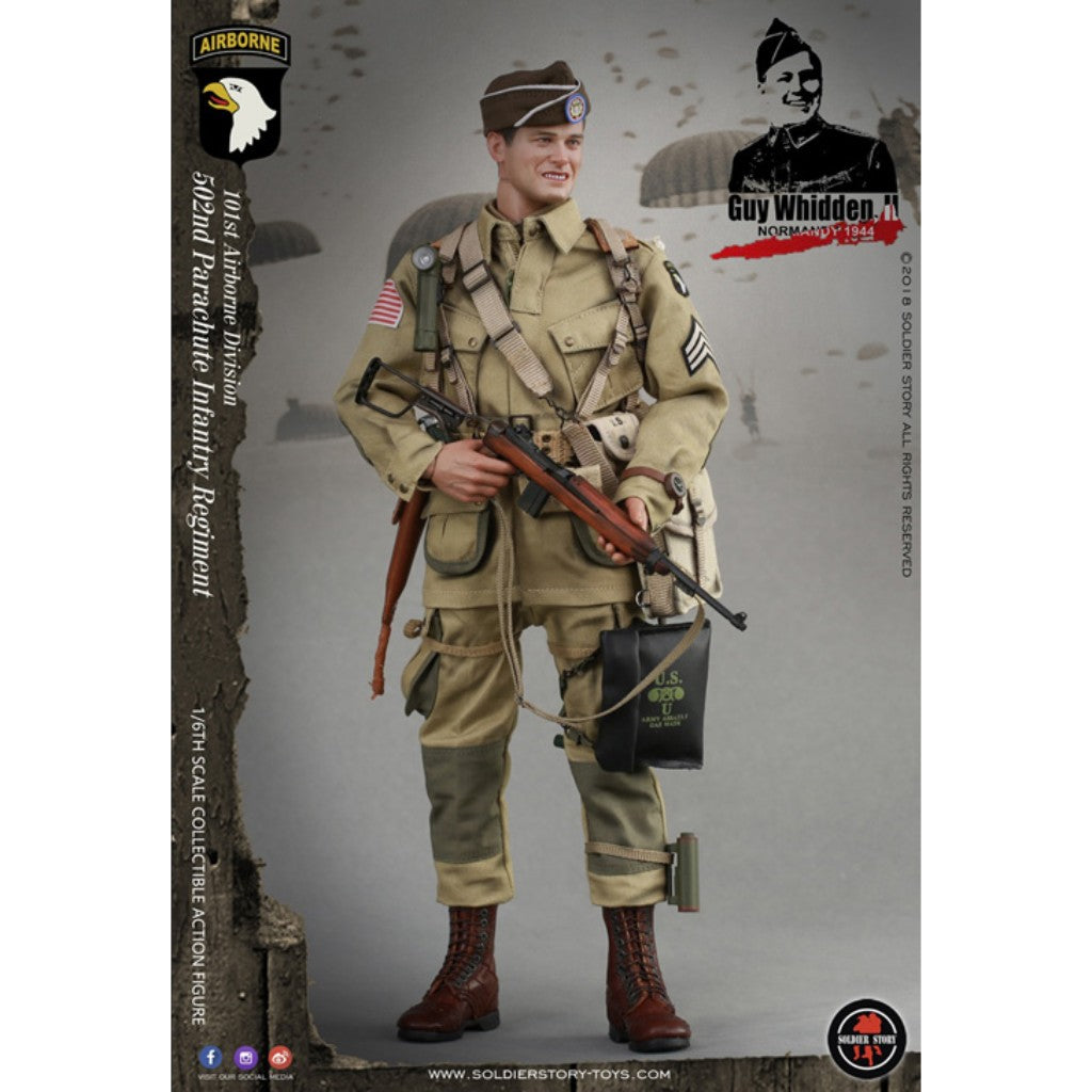 Ss110 Wwii 101st Airborne Division Guy Whidden Ii Tog Toy Or Game