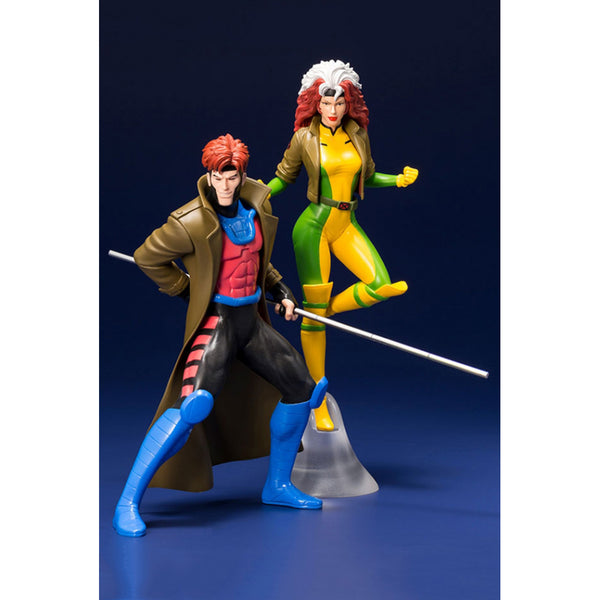 ARTFX Plus X-Men - 1/10 Gambit & Rogue 2-Pack