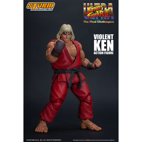 Ultra Street Fighter II: The Final Challengers - Violent Ken