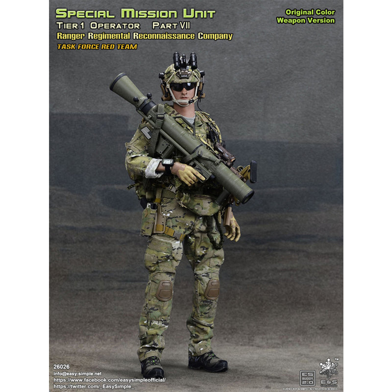 26026 - Special Mission Unit Tier-1 Operator Part VII (Original Color Weapon Version)