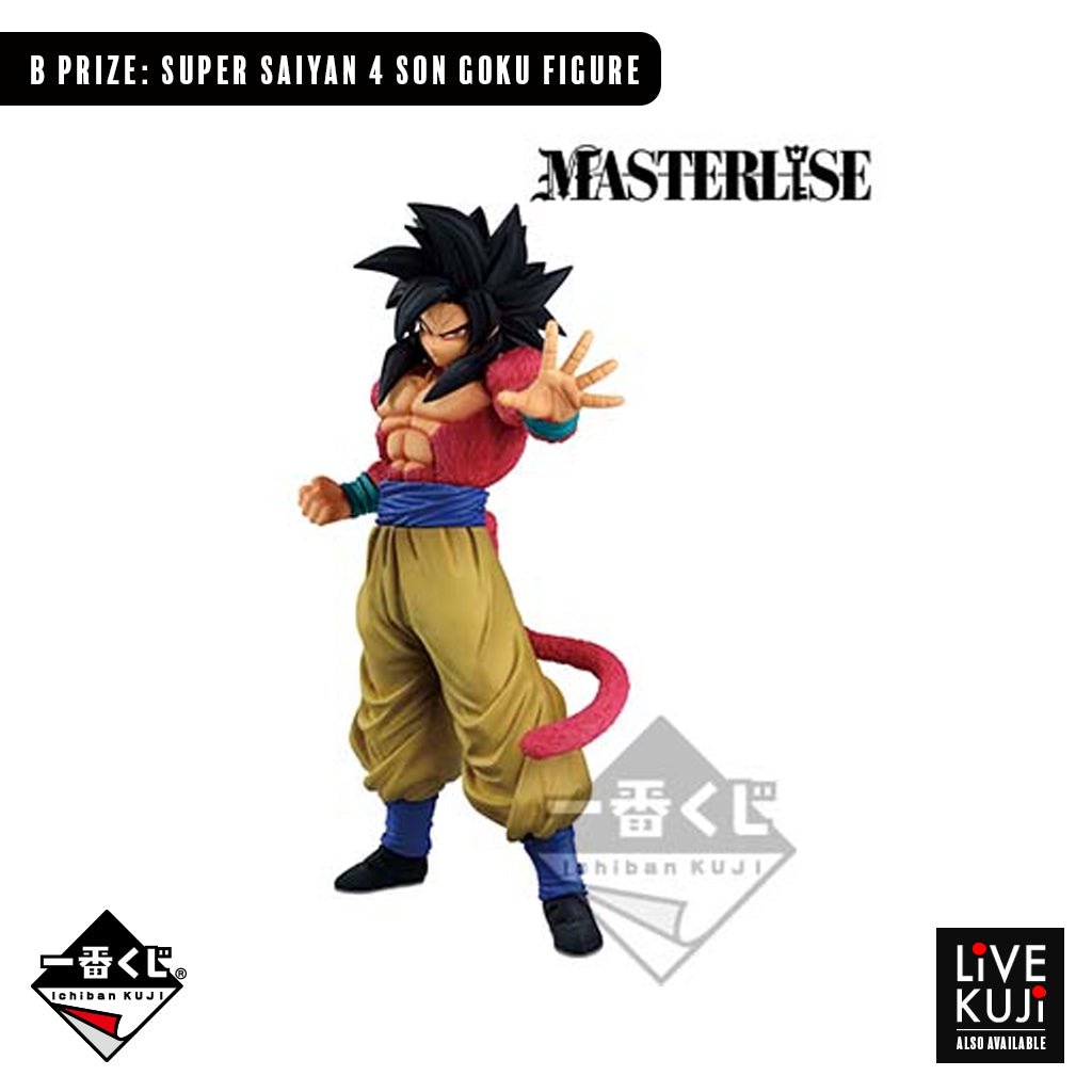 [IN-STOCK] Banpresto KUJI DRAGON BALL THE GREATEST SAIYAN