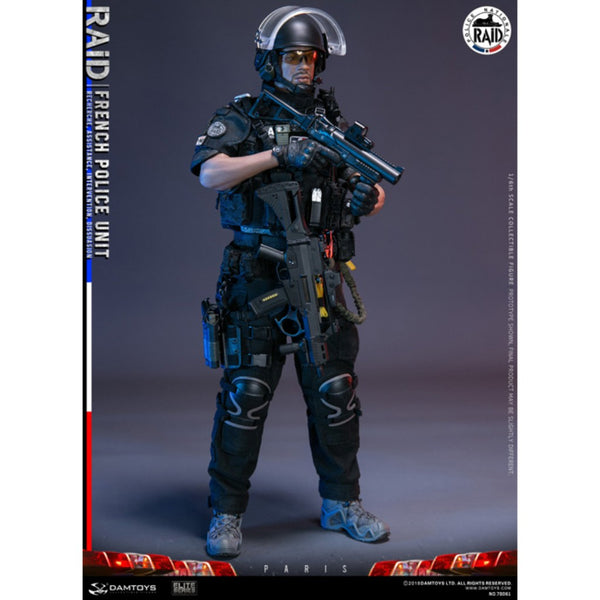 78061 - Elite Series - French Police Unit - RAID