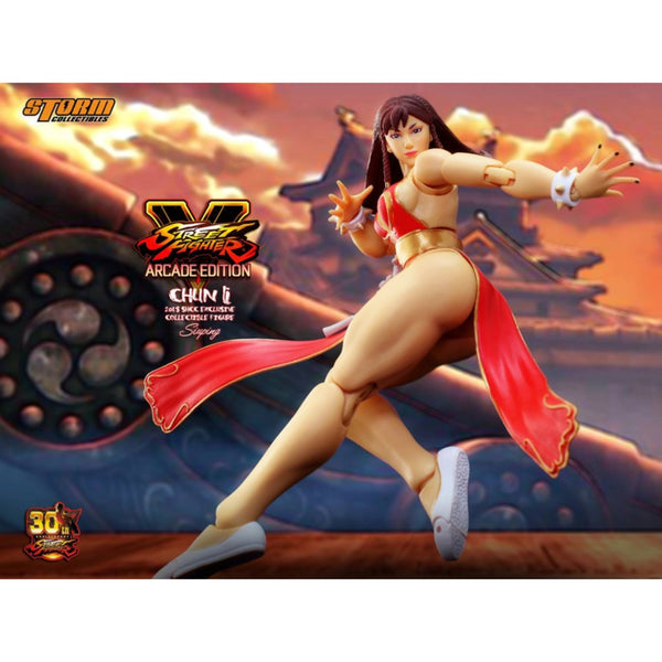 Street Fighter V - Chun-Li Battle Costume in Red (SHCC 2018 Exclusive)