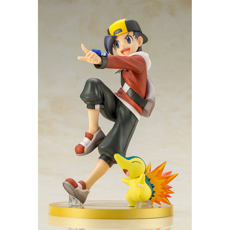 ARTFX J Pokemon - 1/8 Ethan With Cyndaquil