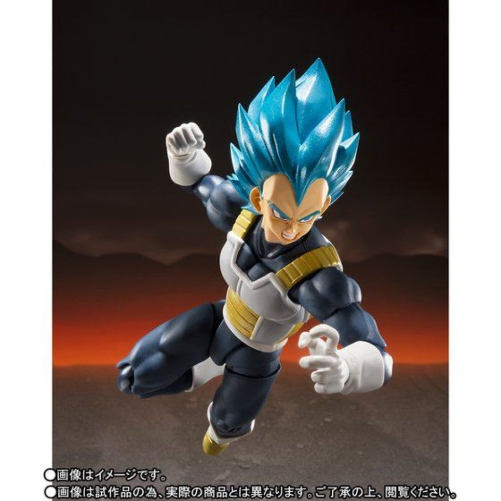 *S.H. Figuarts Dragon Ball Super Broly - Super Saiyan God Super Saiyan Vegeta -Super- (subjected to allocation)