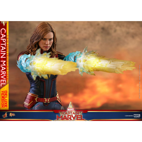 MMS522 - Captain Marvel - 1/6th scale Captain Marvel (Deluxe Version) Collectible Figure