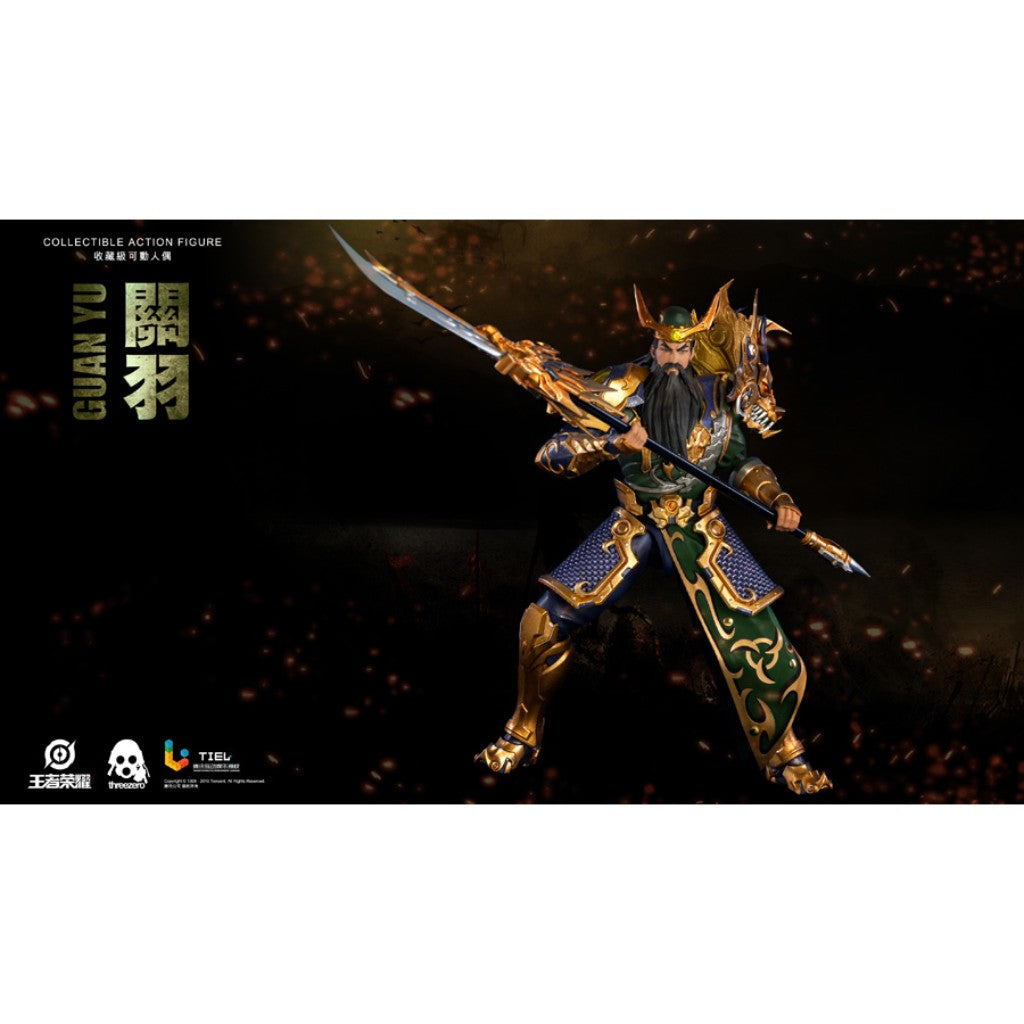 1/12th Scale Collectible Figure - Honor of Kings - Guan Yu