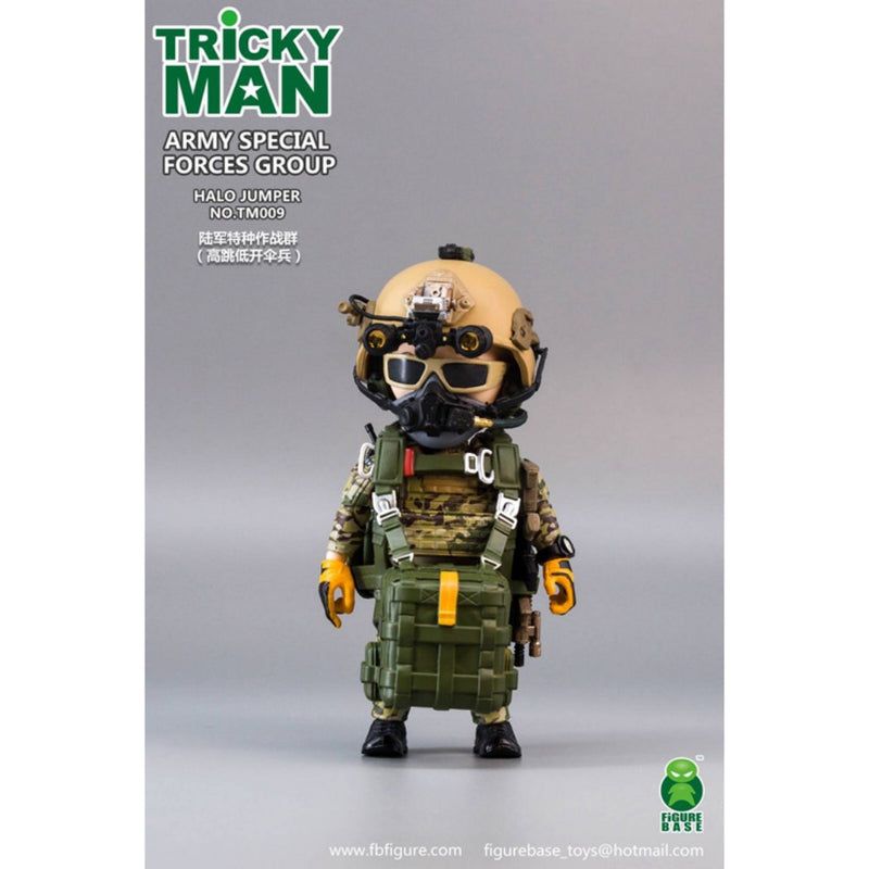 "Tricky Man 5"" Series TM009 - Army Special Forces Group - HALO Jumper"