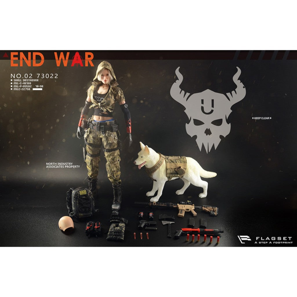 "FS-73022 - Doomsday War Series - End War Death Squad ""U"" Umir & Dog Set"