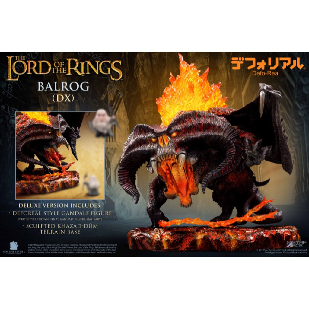 SA6019 - The Lord of the Rings - Deforeal Balrog with Gandalf (DX)