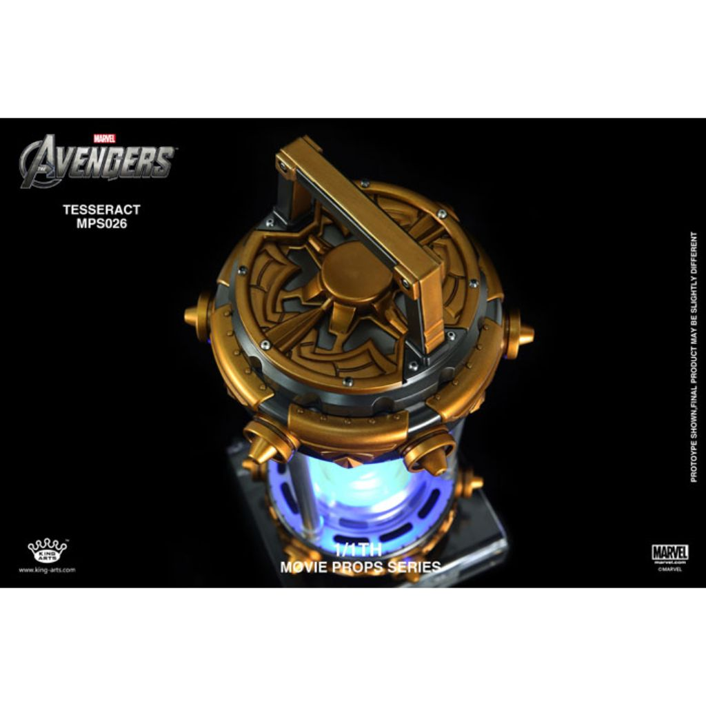 Movie Props Series MPS026 - The Avengers - 1/1th Scale Tesseract (Reissue)