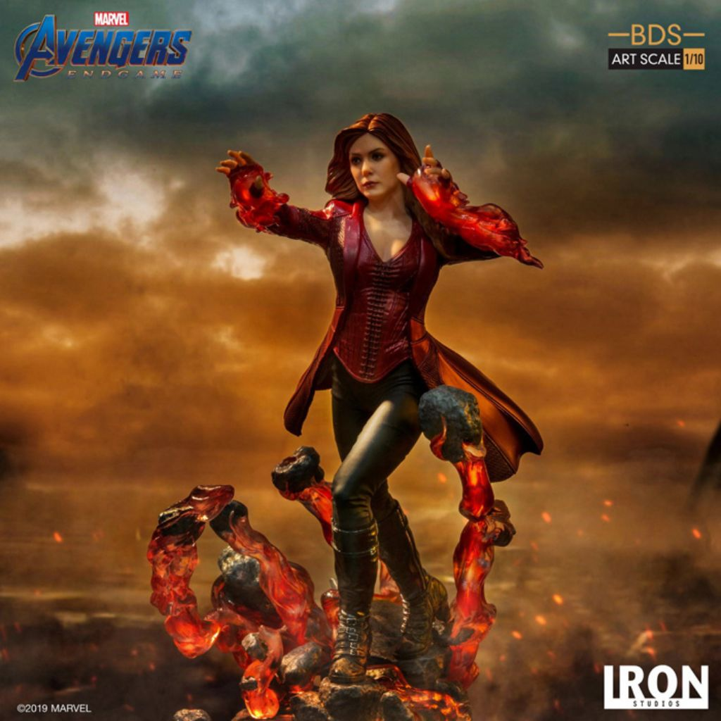 Avengers Endgame BDS Art Scale 1/10 - Scarlet Witch