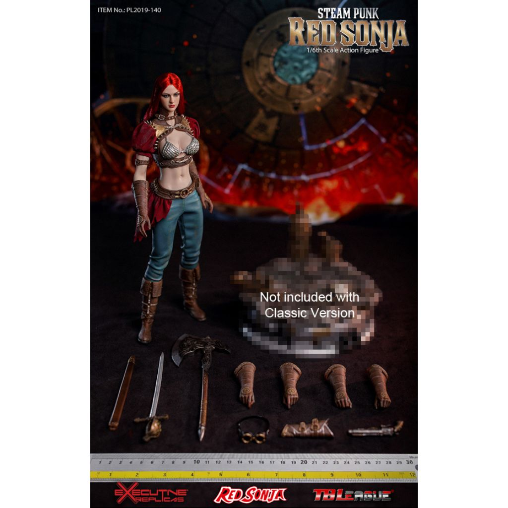 PL2019-140-A - Steam Punk Red Sonja (Classic Version, without Display Base)