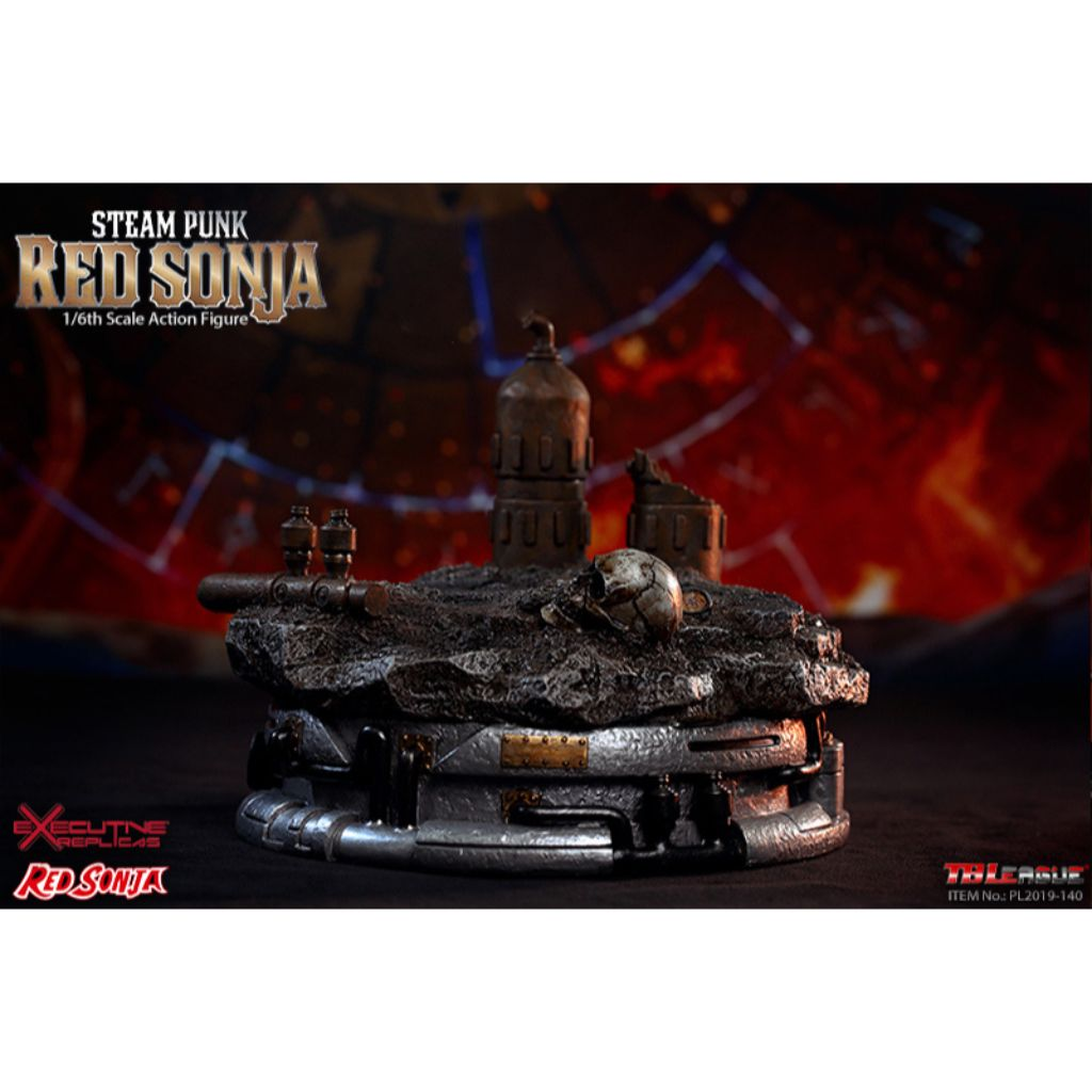 PL2019-140-B - Steam Punk Red Sonja (Deluxe Version, with Display Base)